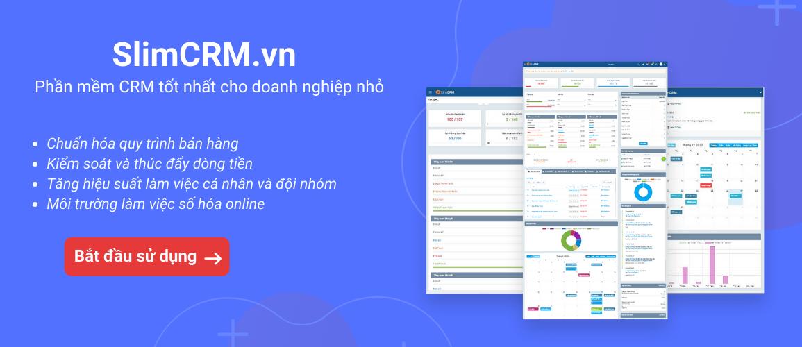 phần mềm crm 4